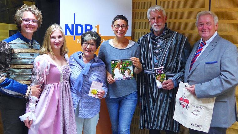 """""""Theater für Jedermann"""" zu Gast in der Plattenkiste von NDR 1 Niedersachsen"""